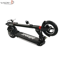 2 wheels electric scooter patinete electrico Body lantern city kick scooter electric 10 inch pneumatic tires dualtron