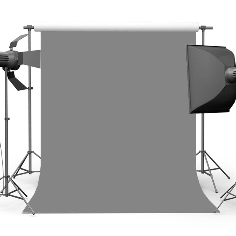 Mehofoto Gris Toile de Fond pour La Photographie Solide Couleur Photo Fond pour Stand Studio Ordinateur Imprimé MW-193
