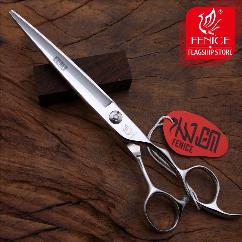 """""""Fenice"""" 7,0 colių profesionalūs JP440C augintiniai plaukai žirklėms šunims šukuoti pjaustant tiesias žirkles"""