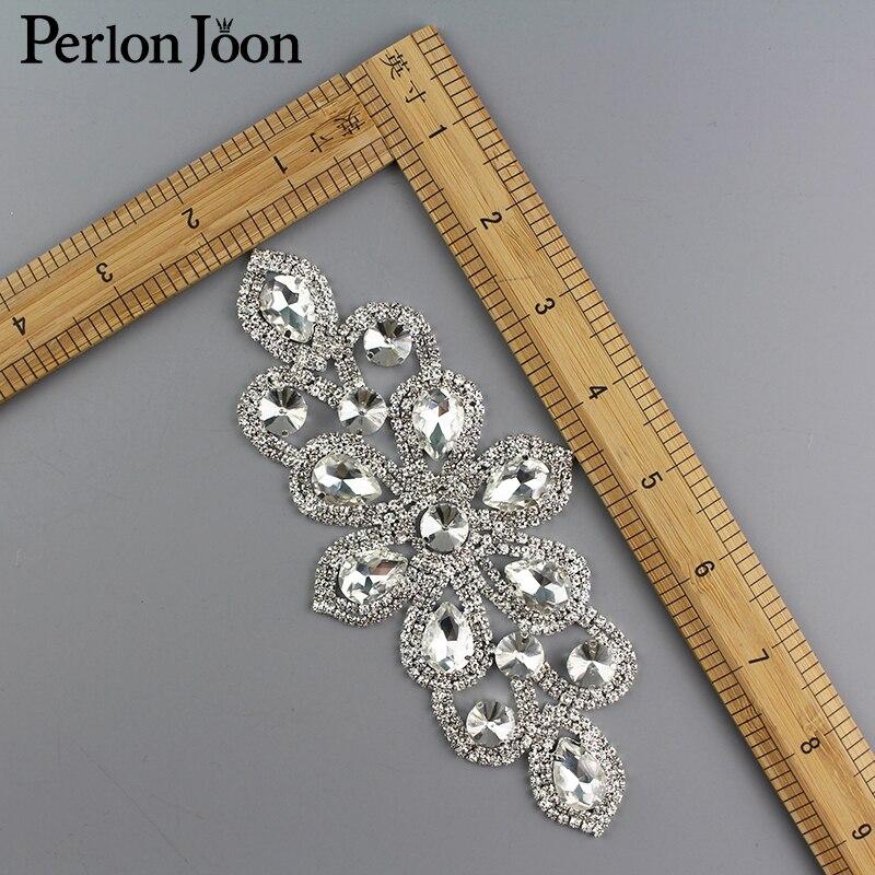 Diy Seam հագուստով Rhinestone Crystal Flowers Decoration - Արվեստ, արհեստ և կարի - Լուսանկար 2