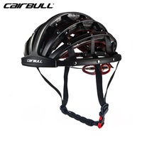 CAIRBULL New Design Folding Cycling Helmet Ultralight Bike Sport Breathable Portable Road Bicycle Helmet Safety Hat