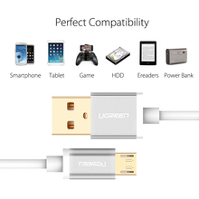 5V2A Micro USB Cable,Ugreen Fast Charging Mobile Phone USB Charger Cable 1M 2M 3M Data Sync Cable for Samsung HTC LG Android