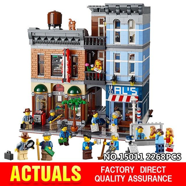 Lepin 15011 Building Series The Detective's Office Set Avengers Set  Assemble Building Blocks Educational LegoINGly Toys