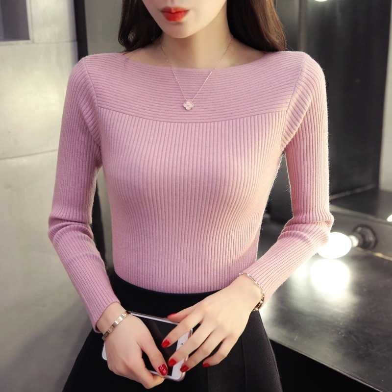 Women Long Sleeve Pullover Sweater  3