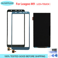 1280*640 black blue For leagoo m9 m 9 LCD Display And Touch Screen assembly Replacement +Tools