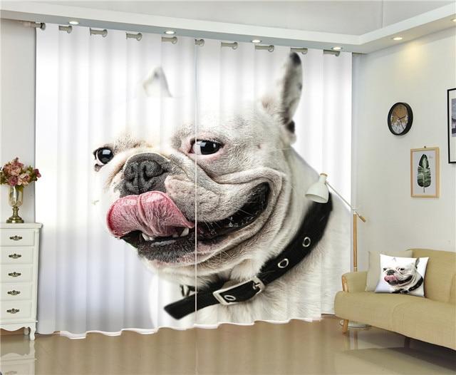 D lusso tende oscuranti dog stampe per soggiorno bambini ragazzi