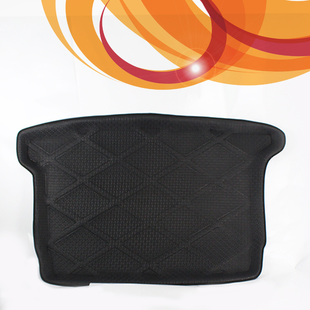 3D Black Waterproof Dustproof All Weather For VW Golf 6 2009-2012 Rear Car Auto Truck Cargo Mat Tray Liner