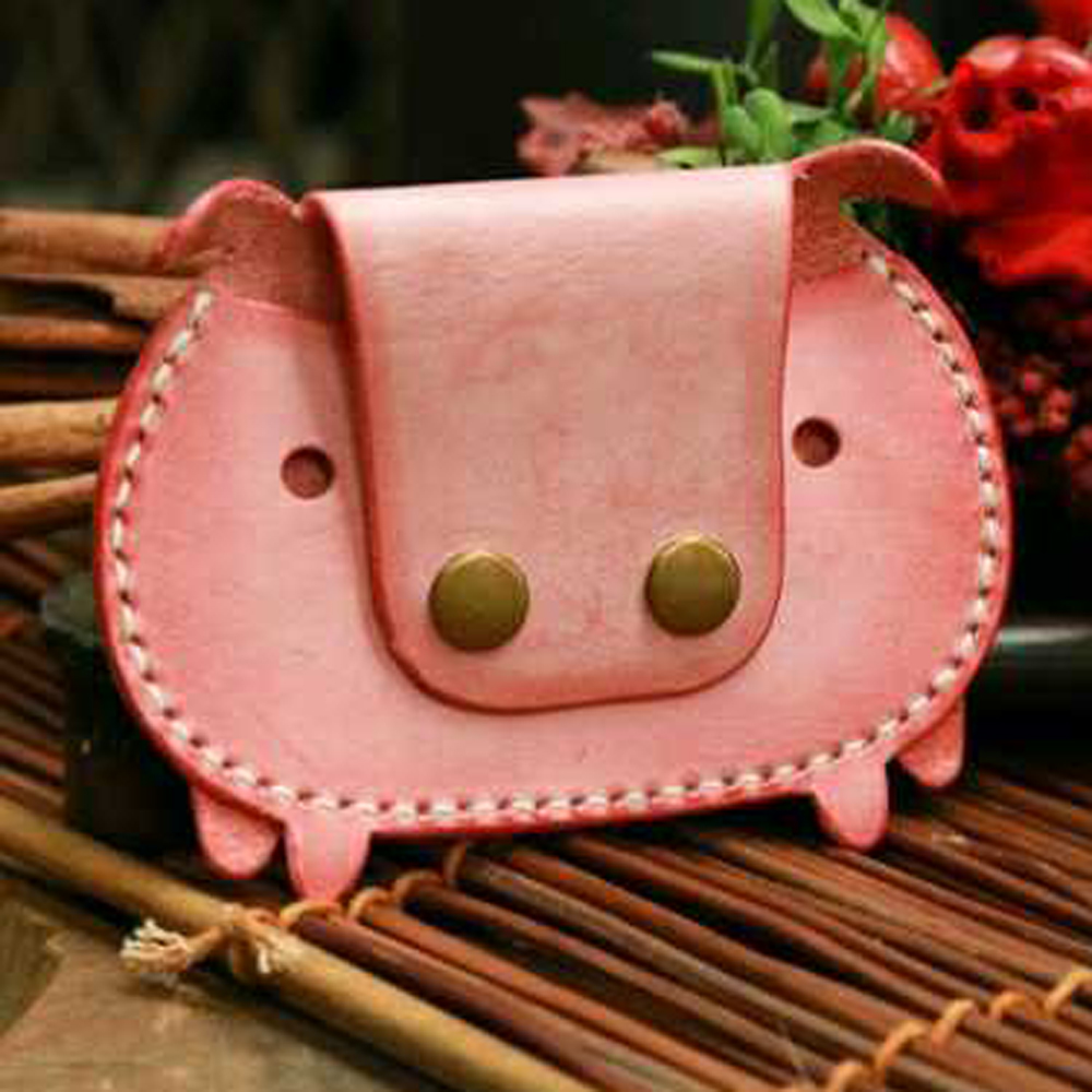 Japan Steel Blade Rule Die Cut Steel Punch Pig Card Bag Coin Purse Cutting Mold Wood