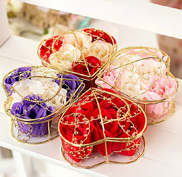 Flowers For Wedding Gift: 500 Pieces Small Gift Items Decorated Marriage Celebration