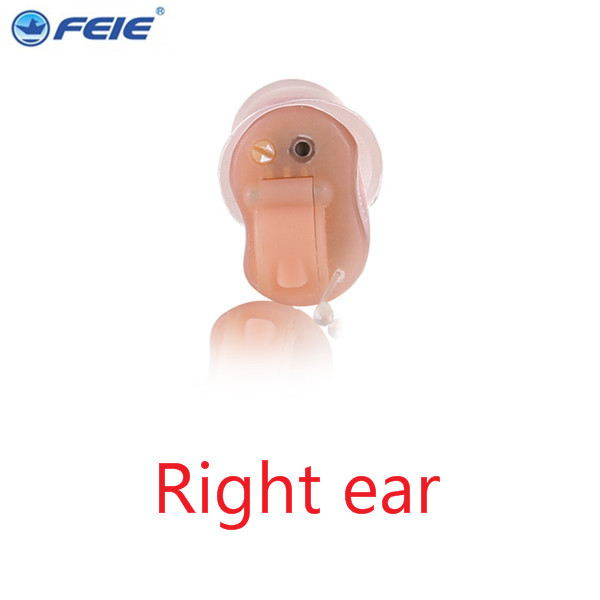 Micro Ear Digital ITC Hearing Aid Noise Reduction for the elderly For Right Ear Left Ear invisible hearing device S-10A Dropship