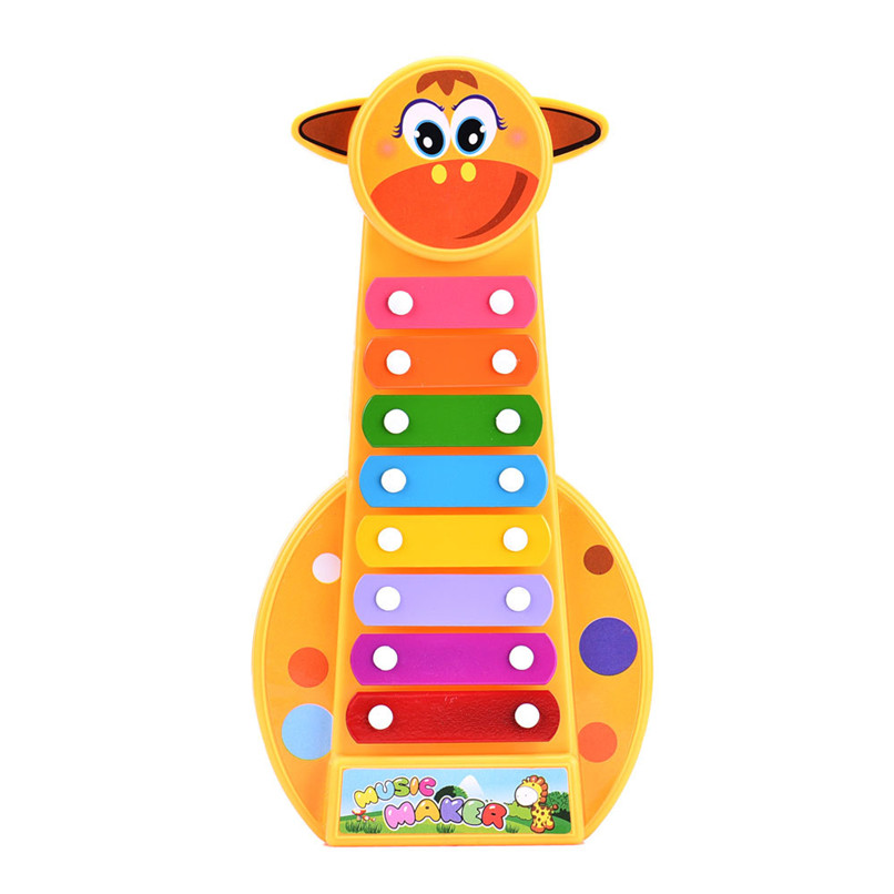 Baby Toys Colorful Baby Kids Musical Toys 8-Note Xylophone Plastic Instrument Wisdom Development Early Education Toys JY09#F (4)
