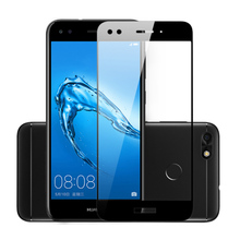 Tempered Glass For Huawei Nova Lite 2017 Full Cover Y6 Pro 2017 Protective Glass