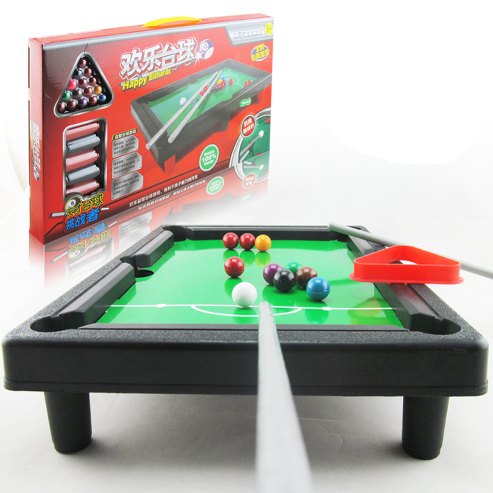 Great Billiard Mini Pool Table With Cues Tripod Balls For Boy Kids Best Sports  Game Toy For