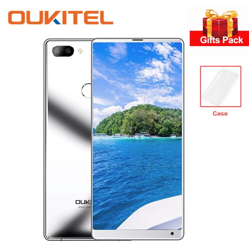 OUKITEL Della Miscela 2 4g Smartphone 5.99 pollice FHD + 18:9 Schermo Intero Helio P25 Octa Core 6 gb + 64 gb Del Telefono Mobile 9 v/2A Carica Rapida 16MP