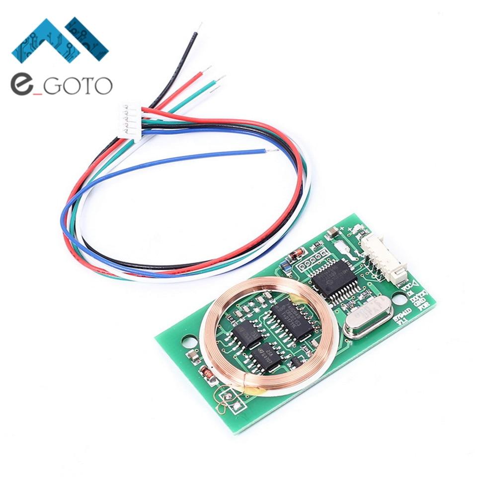 DC 5V Dual Frequency WG26 Read RFID Wireless Module for IC/ID/Mifare13.56MHz Card 125KHz Rfid Module