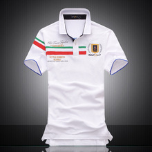 a9693e269d0 2018 men s lapel embroidered polo shirt Cotton Air Force One fashion of  England(China)