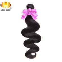 Ali Afee Hair Products Brazilian Body Wave 1 Pc 100% Human Hair Natural Black 100g Hair Weaving 8''-30''