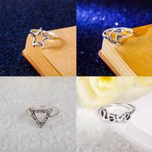 Hot Mid Midi Above Knuckle Ring Aneis Band Copper Tip Finger Stacking Jewelry Accessories Ornaments Flawless Pendant Rings(China)
