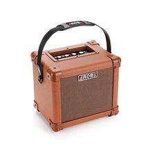 AROMA AG 10A 10W Brown font b Guitar b font Amplifier Speaker Box Handy Portable Acoustic