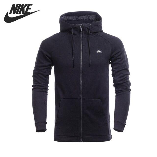 f311eaaf Оригинальный NIKE M NSW Современная Толстовка FZ FT мужская куртка с  капюшоном Спортивная