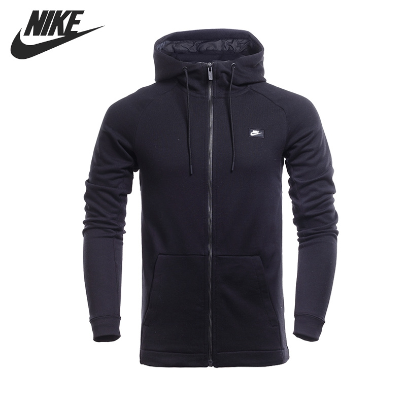 Original NIKE M NSW MODERN HOODIE FZ FT Men's Jacket Hooded Sportswear cd ozzy osbourne live at the budokan