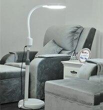 LED холодный свет бестеневые лампы красоты зеркало увеличительное стекло ногтей вышивка татуировки стоматологическая клиника Гибкая настольная лампа