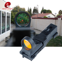 Element 20mm Rail Riflescope Hunting SeeMore Railway Reflex C MORE Red Dot Optics Rifle Scope Tactical Scope sight Reddo EX182