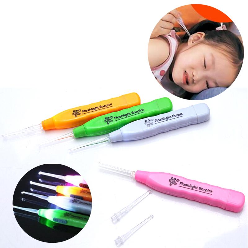 Cleaner-Tools Electric-Ear-Cleaner Digging Baby/adult Remover Flashing-Light Ear-Wax