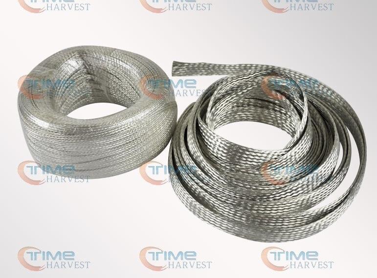 1PCS CB007 Tinned Copper Braided Strap 2.5mm2 Copper Band Copper ...