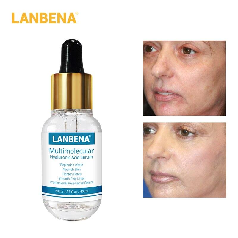LANBENA Hyaluronic Acid Serum 40ml Smooth Fine Lines Moisturizing Acne Treatment Repairing Tighten Pores Anti-Anging Skin Care65