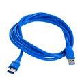 Alta Qualidade 6FT 1.8 m Padrão USB 3.0 Cabo A macho para a macho Cabo de Sincronização De Dados Cabo de Extensão USB Gadgets