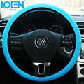 Multi-color Soft Car Silicone Steering Wheel Covers Anti-slip Breathable Universal Auto Silica Gel Wheel Cover