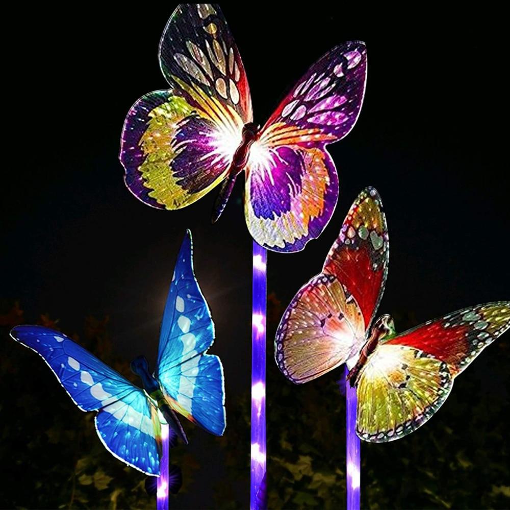 Luzes solares Do Jardim Multi Mudando A