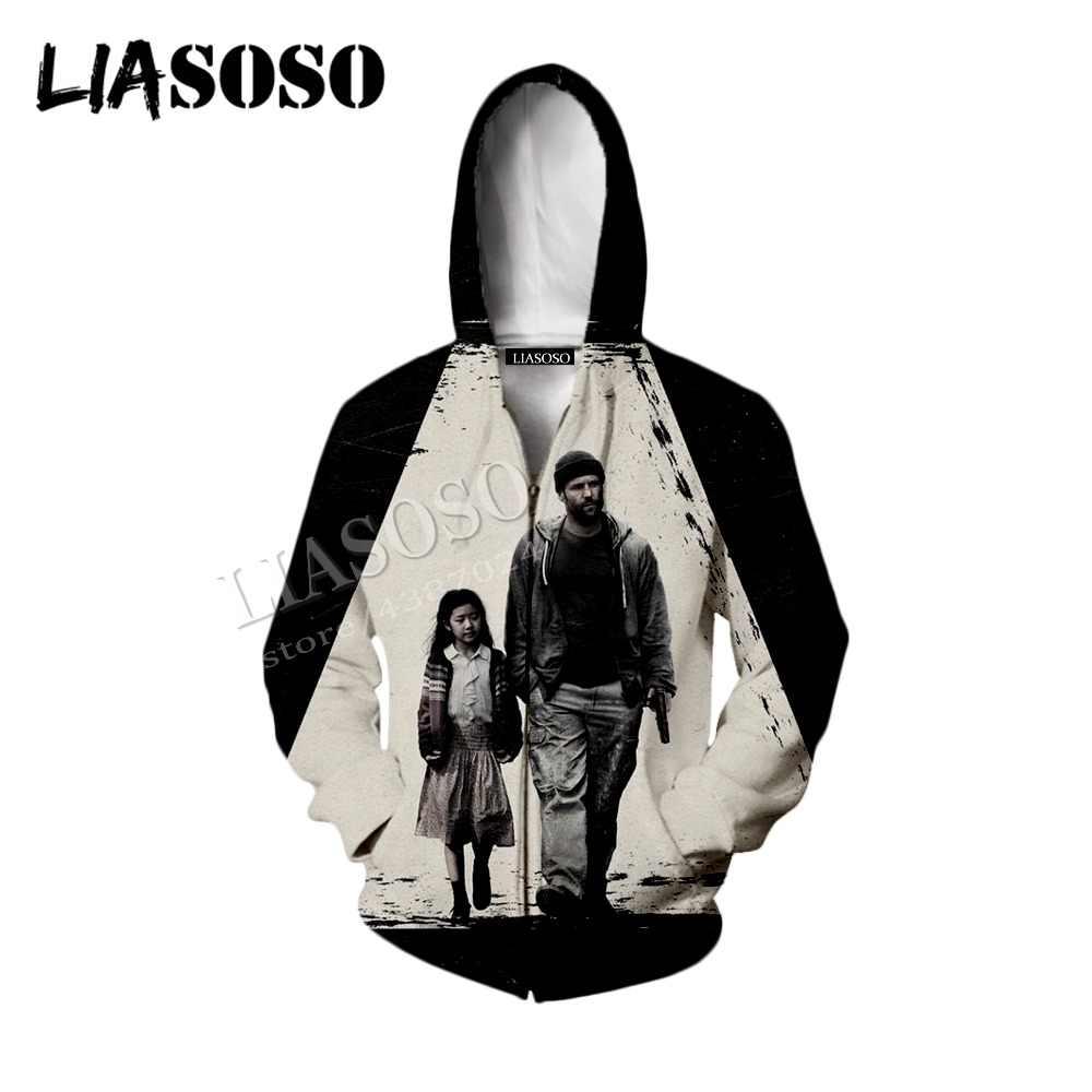 LIASOSO последняя 3d печать Спортивная одежда из полиэстера фильм звезда Голливуд Джейсон стейтем маленькая девочка молния с капюшоном рубашка Мужчины Женщины CX598