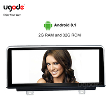 Ugode PX6 Car Multimedia Player 10.25 IPS Screen Android 8.1 for BMW 3 series F30 M3 4 F80 EVO 2018-2019 GPS Navigation