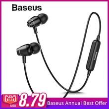 Baseus S09 Bluetooth наушники Беспроводной наушников магнит наушники С  микрофоном Стерео Auriculares Bluetooth наушники для телефона 91ac5b836ac9a