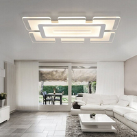 Free Shipping Ultra Thin Acrylic Modern Led Ceiling Lights For Living Room Bedroom Study Room Home