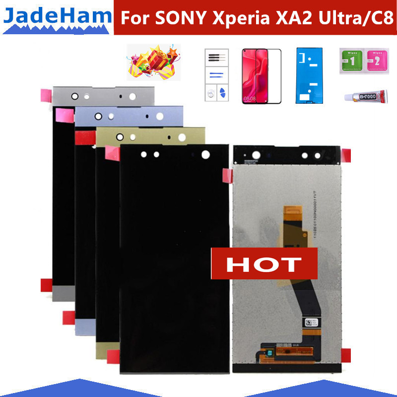 For 6.0 inch SONY Xperia XA2 Ultra/C8 H4233 H4213 H3213 LCD Display Touch Screen Digitizer Assembly Replacement