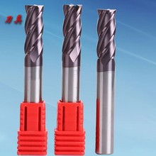 Power Tool 1-8mm HRC 58 Router Bit Angeled Carbide End Mills Cutting Tools Alloy Milling Cutter CNC Coated-carbide End-mill 10pcs 1 0 mm carbide 2 flute carbide double end mills router bit 4mm cel excellent
