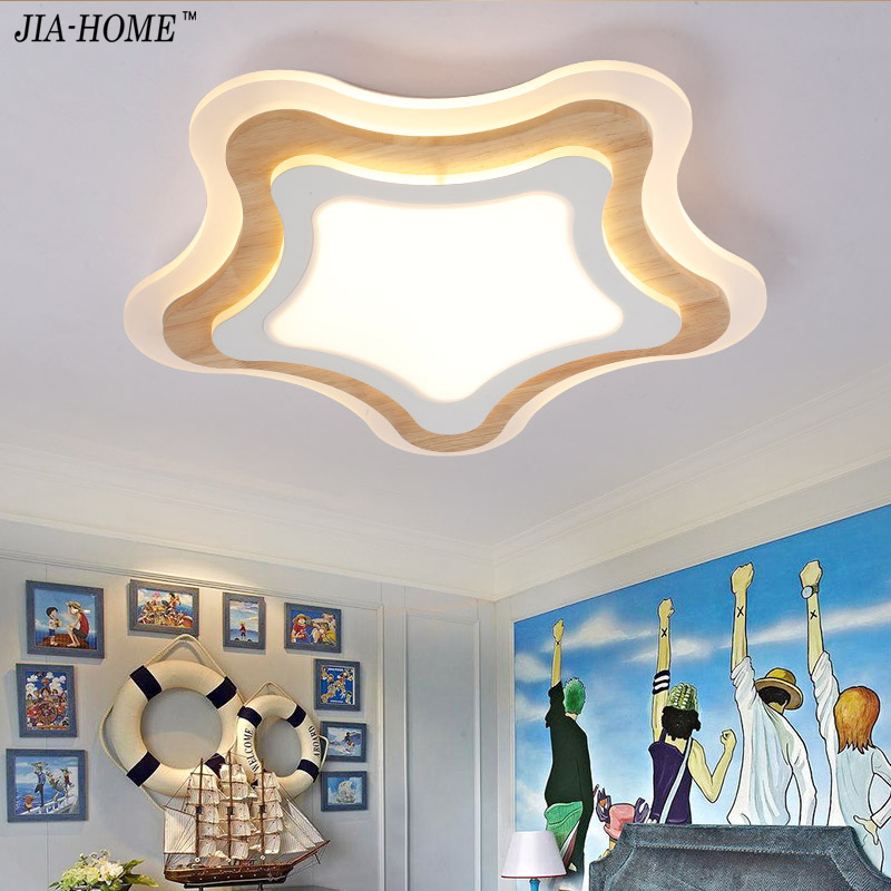 Ceiling Lights Lights & Lighting Led Ceiling Light With Ultra-thin Acrylic And Wooden Lamp Ceiling For Kids Room Baby Room Bedroom Flush Mount Lamparas De Techo Clear And Distinctive