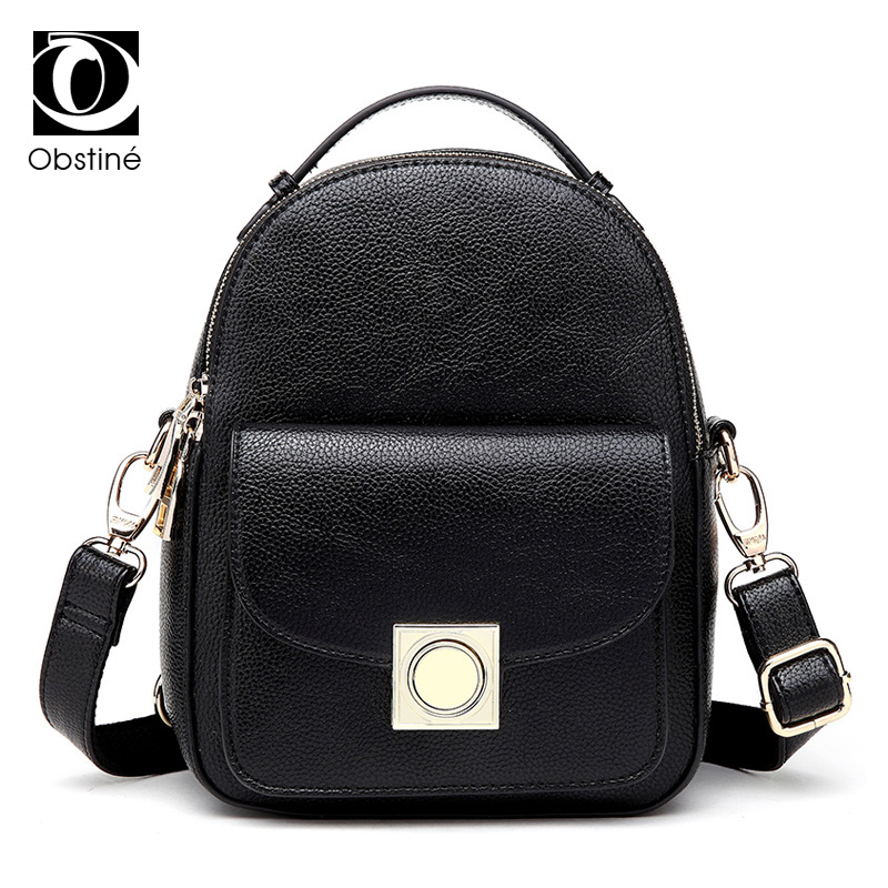 small backpack for girls pu leather daypack women mini back pack bag black cute women's backpacks shoulder bag female rucksacks mma backpack box ing shoulder ufc memory gifts daypack for friends