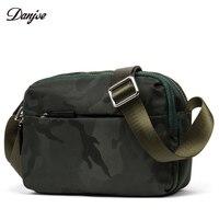 DANJUE Man Messenger Bag Waterproof Oxford Military Style Shoulder Bag Camouflage Mini Daily Bag Male Zipper