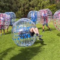 bumper ball 1.2 M size 0.8 mm PVC material bubble ball use for outdoor play sport game zorb inflatable