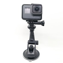 Car Windshie Holder For Xiaomi Yi 4k Suction Cup Mount For Eken H9 For Gopro Hero 6 5 For Go pro Action Camera For SJCAM SJ4000