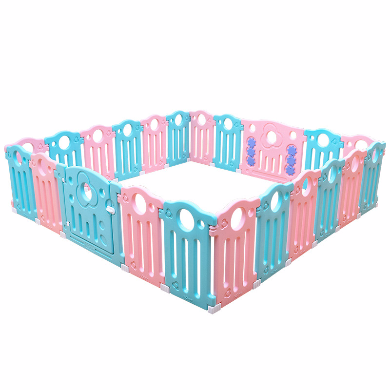 0-6 Years Old Baby Toddler Fence Home Fence Children's Games Indoor Safety Crawling Protection Environmental Protection Material