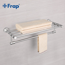 frap wall mounted space aluminum surface towel bars bathroom towel hanger bathroom accessories towel rack f3724