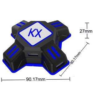 Image 3 - EastVita KX USB משחק בקרי מתאם ממיר וידאו משחק מקלדת עכבר מתאם עבור מתג/Xbox/PS4/PS3