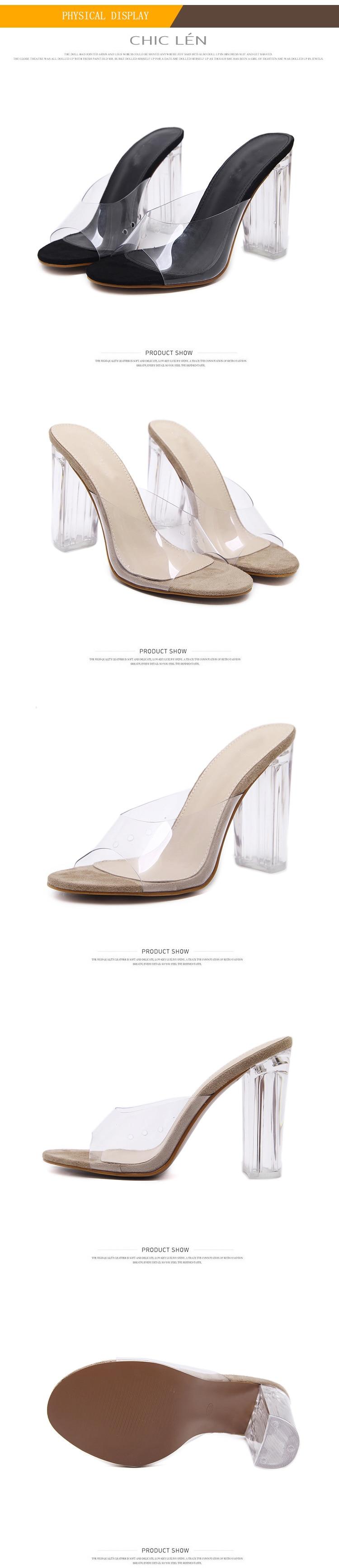 HTB1bfzVowDD8KJjy0Fdq6AjvXXaR Aneikeh New Women Sandals PVC Crystal Heel Transparent Women Sexy Clear High Heels Summer Sandals Pumps Shoes Size 41 42