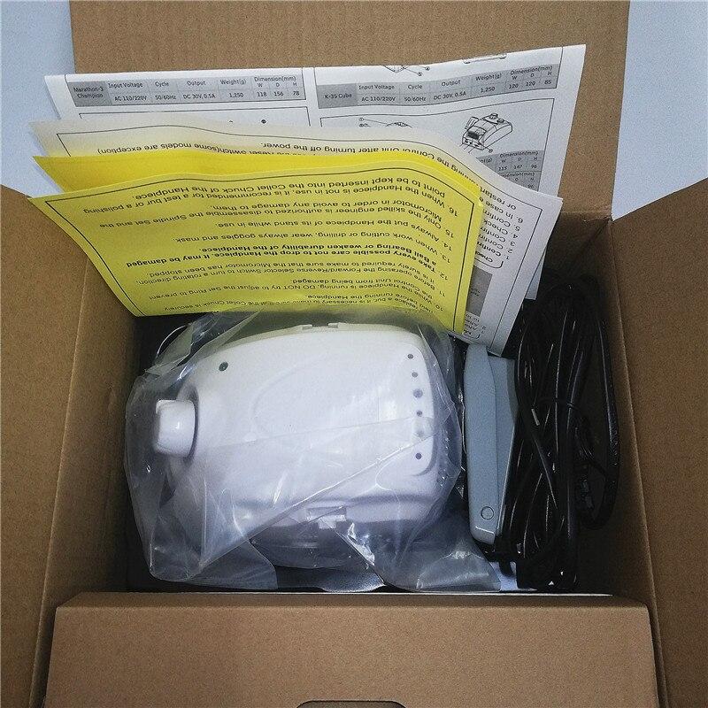упаковка и комплект аппарат для маникюра Marathon 3 в магазине veranail