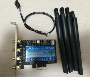デスクトップのpcieアダプタ用broadcom BCM94360CD 1750 mbps 802。11acアンテナデュアルバンド無線lanワイヤレスbluetooth 4.0 pci-e pci express - SALE ITEM パソコン & オフィス